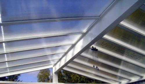 toiture en polycarbonate pour veranda